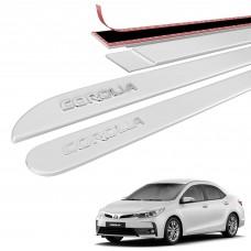 Friso Lateral Toyota Corolla Alto Relevo - Sean Car
