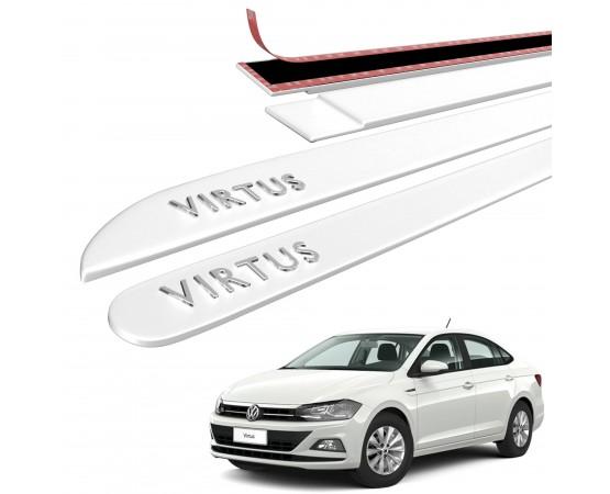 Friso Lateral Volkswagen Virtus Alto Relevo - Sean Car