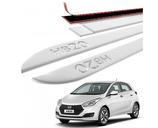 Friso Lateral Hyundai HB20 Baixo Relevo - Sean Car
