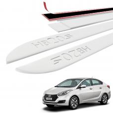 Friso Lateral Hyundai HB20S Baixo Relevo - Sean Car