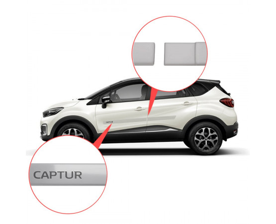 Friso Lateral Renault Captur