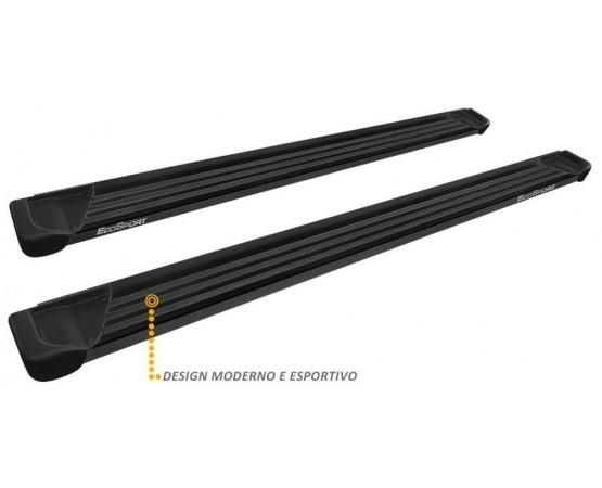 Estribo Lateral Ecosport 2013 a 2019 Aluminio Preto A1