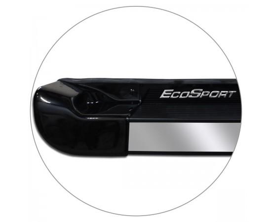 Estribo Lateral Ecosport 2013 a 2019 Preto Ebony Personalizado
