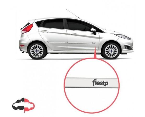 Friso Lateral Personalizado Ford Fiesta (Alfabetoauto) por alfabetoauto.com.br