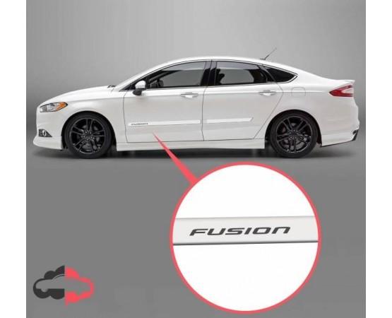 Friso Lateral Personalizado Ford Fusion (Alfabetoauto) por alfabetoauto.com.br
