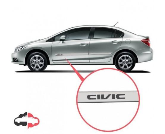 Friso Lateral Personalizado Honda Civic