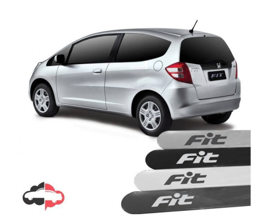 Friso Lateral Personalizado Honda Fit (Alfabetoauto) por alfabetoauto.com.br