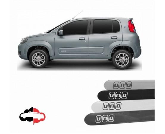 Friso Lateral Personalizado Fiat Uno (Alfabetoauto) por alfabetoauto.com.br