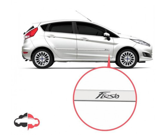 Friso Lateral Personalizado Ford New Fiesta Sedan