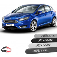 Friso Lateral Personalizado Ford Focus Sedan