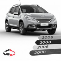 Friso Lateral Personalizado Peugeot 2008