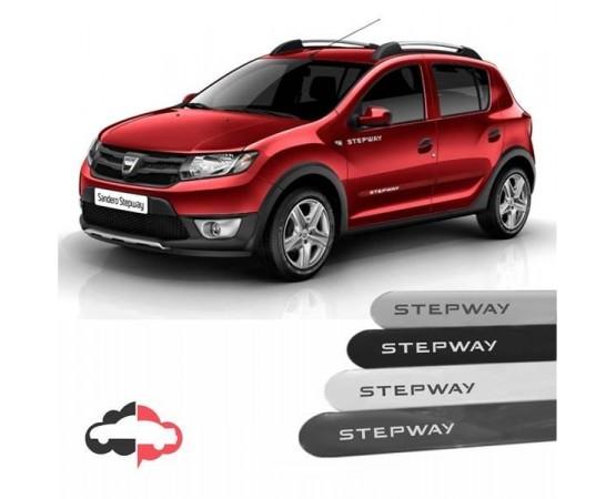 Friso Lateral Personalizado Renault StepWay (Alfabetoauto) por alfabetoauto.com.br