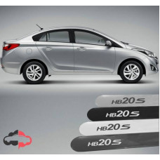Friso Lateral Personalizado Hyundai HB20S