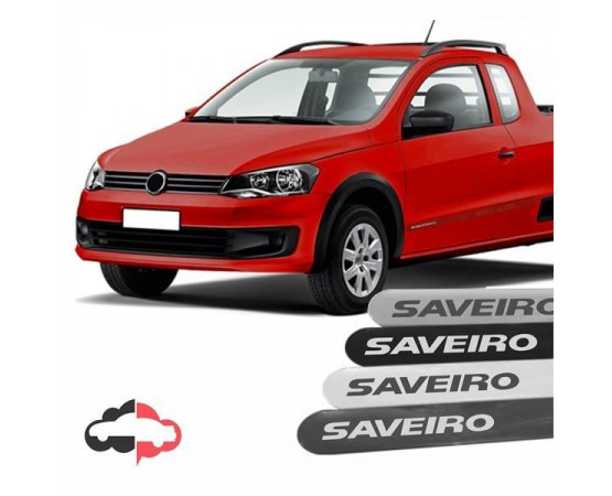 Friso Lateral Personalizado Volkswagen Saveiro (Alfabetoauto) por alfabetoauto.com.br