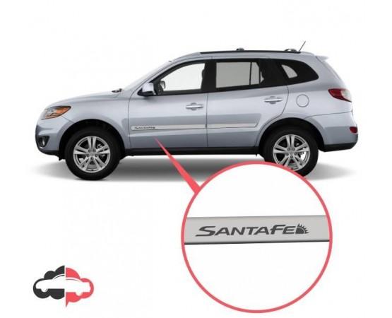 Friso Lateral Personalizado Hyundai Santa Fé (Alfabetoauto) por alfabetoauto.com.br