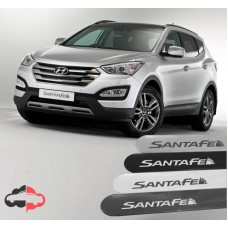 Friso Lateral Personalizado Hyundai Santa Fé
