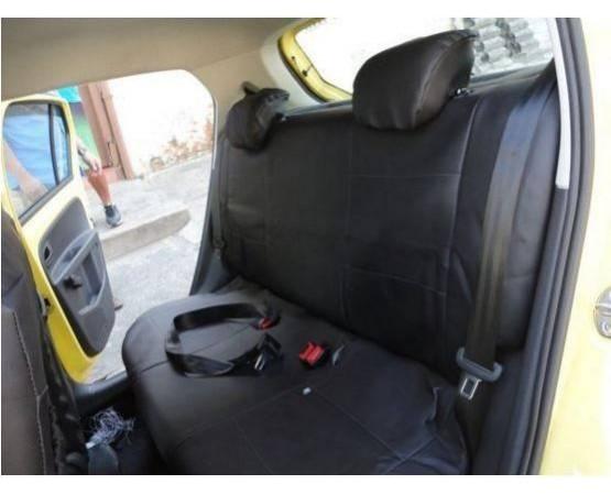 Capa de Banco em Courvin automotivo preto vw up (CarFashion) por alfabetoauto.com.br