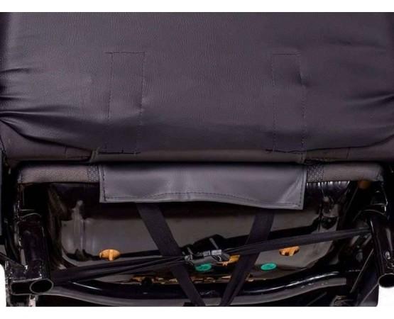 Capa de Banco em Couro reconstituido preto gm cobalt banco traseiro bipartido (CarFashion) por alfabetoauto.com.br