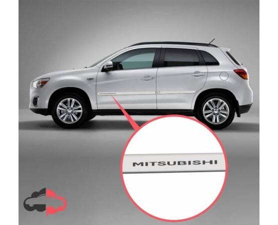 Friso Lateral Personalizado Mitsubishi ASX (Estampa Mitsubishi) (Alfabetoauto) por alfabetoauto.com.br