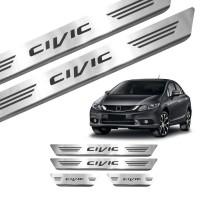 Soleira de Aço Inox Honda Civic