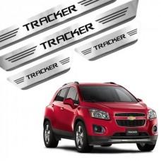 Soleira de Aço Inox Chevrolet Tracker