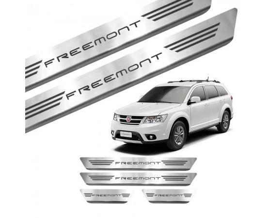 Soleira de Aço Inox Fiat Freemont (GPI Automotive) por alfabetoauto.com.br