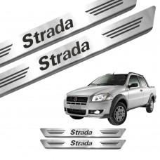 Soleira de Aço Inox Fiat Strada CS