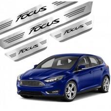 Soleira de Aço Inox Ford Focus