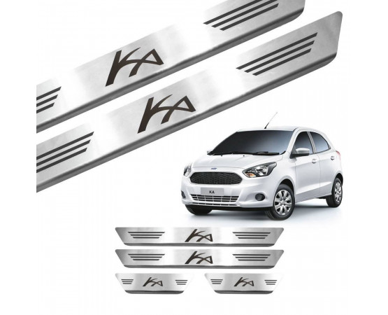 Soleira de Aço Inox Ford Ka (GPI Automotive) por alfabetoauto.com.br