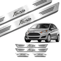 Soleira de Aço Inox Ford New Fiesta