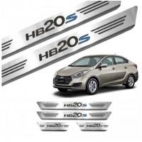 Soleira de Aço Inox Hyundai HB20S
