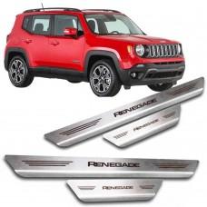 Soleira de Aço Inox Jeep Renegade