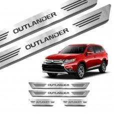 Soleira de Aço Inox Mitsubishi Outlander
