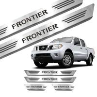 Soleira de Aço Inox Nissan Frontier