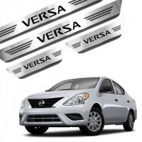 Soleira de Aço Inox Nissan Versa