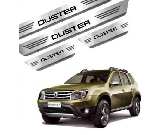 Soleira de Aço Inox Renault Duster (GPI Automotive) por alfabetoauto.com.br