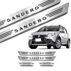 Soleira de Aço Inox Renault Sandero