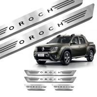 Soleira de Aço Inox Renault Oroch