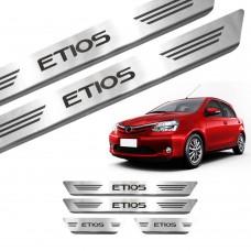 Soleira de Aço Inox Toyota Etios