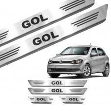 Soleira de Aço Inox Volkswagen Gol 4P