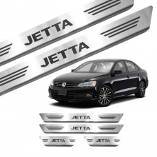 Soleira de Aço Inox Volkswagen Jetta