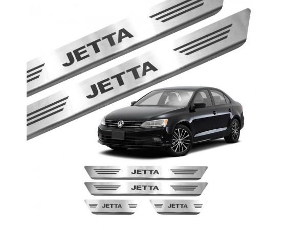 Soleira de Aço Inox Volkswagen Jetta (GPI Automotive) por alfabetoauto.com.br