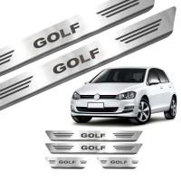 Soleira de Aço Inox Volkswagen Golf