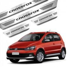 Soleira de Aço Inox Volkswagen Crossfox