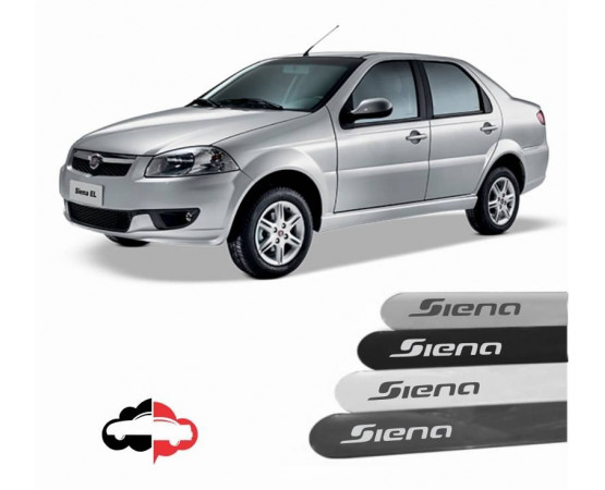 Friso Lateral Personalizado Fiat Siena (Alfabetoauto) por alfabetoauto.com.br
