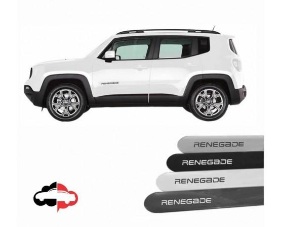 Friso Lateral Personalizado Jeep Renegade (Alfabetoauto) por alfabetoauto.com.br
