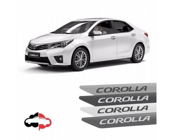 Friso Lateral Toyota Corolla Original (Alfabetoauto) por alfabetoauto.com.br