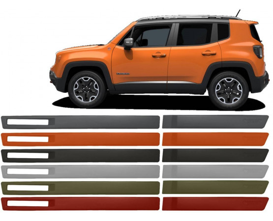 Friso Lateral Jeep Renegade Original (Alfabetoauto) por alfabetoauto.com.br