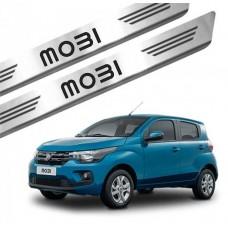 Soleira de Aço Inox Fiat Mobi