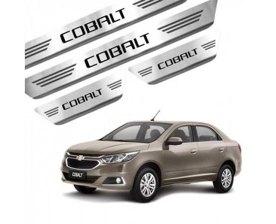 Soleira de Aço Inox Chevrolet Cobalt